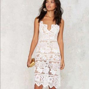 """White """"Gianna"""" Dress"""